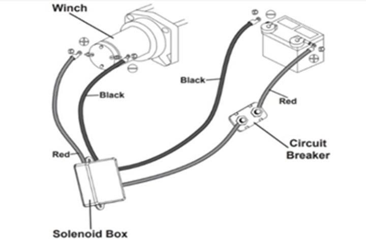 Badlands Winch Remote Not Working, Badlands Winch Wiring Diagram