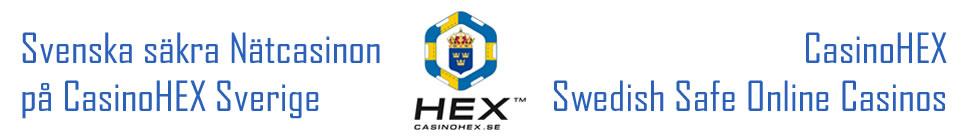 Svenska spelsajter online - CasinoHEX.se